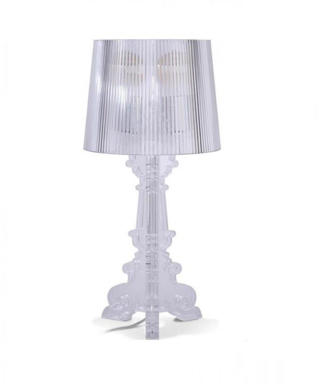 Lampe De Table Transparente Inspir 233 E Bourgie Discount Design