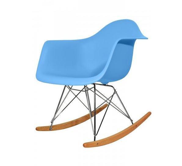 fauteuil type charles eames rar bleu discount design