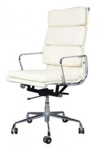 Fauteuil Soft Pad Group EA219 Eames blanc