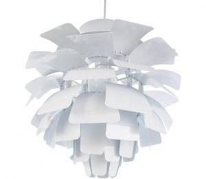 Suspension design Artichoke colori blanc 48 cm