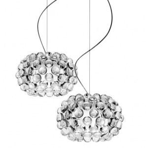 Lampe suspension design type caboche diamètre 35 cm + port